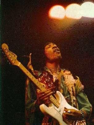 Jimi Hendrix White