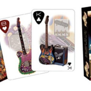 Fender Custom Guitars Shop Carte Da Gioco