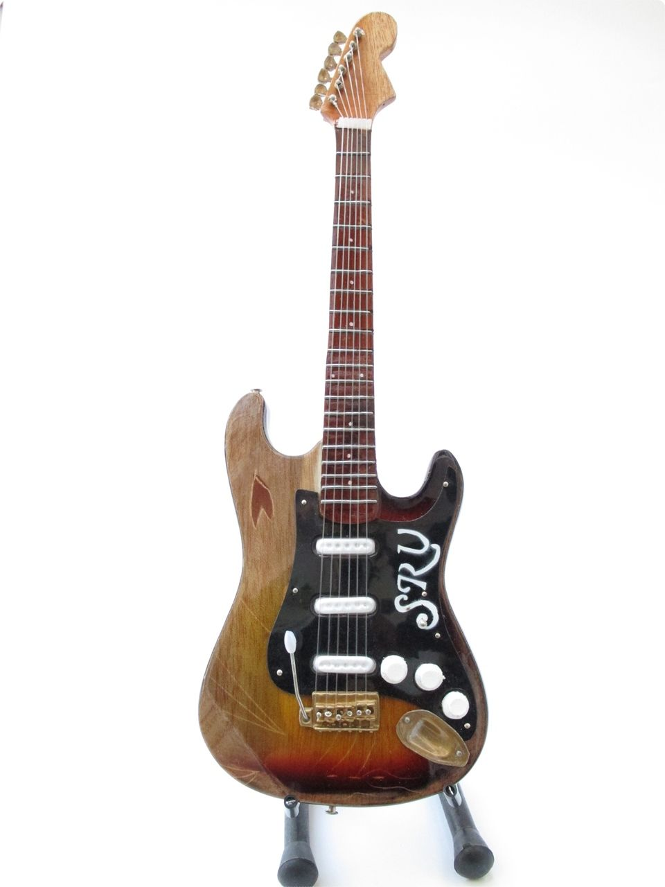 Stevie Ray Vaughan scratched