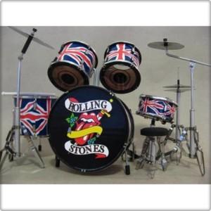 Batteria Rolling Stones