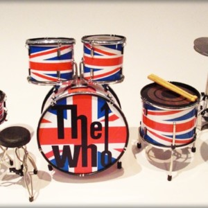 Batteria The Who Union Jack
