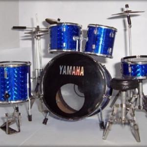 Batteria Yamaha Blu
