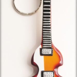 Portachiavi Chitarra Beatles Bass