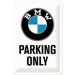 Targa in metallo BMW