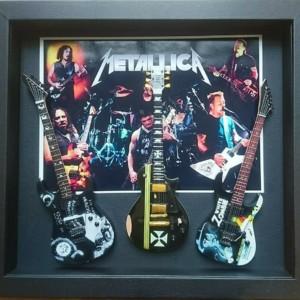 Quadro Metallica 3 chitarre