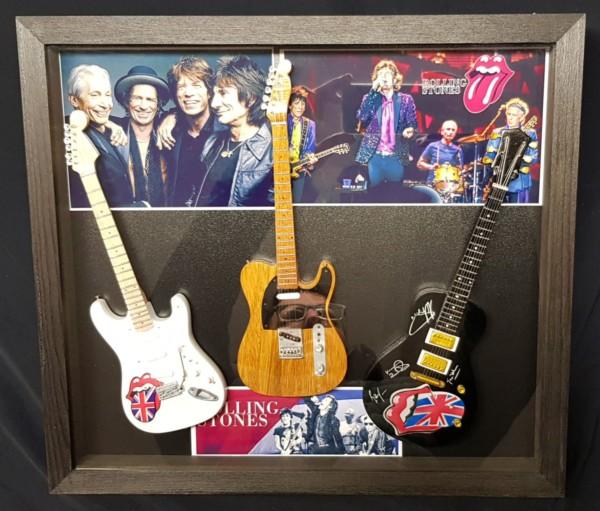 Quadro Rolling Stones 3 Guitars