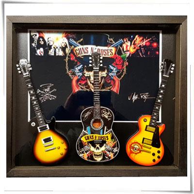 quadri rock riproduzioni mini chitarre
